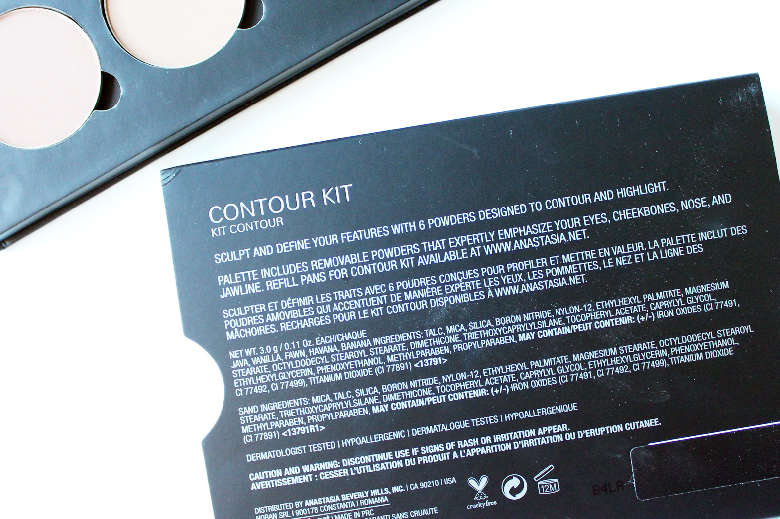 ANASTASIA BEVERLY HILLS   Contour Kit in Light - CassandraMyee