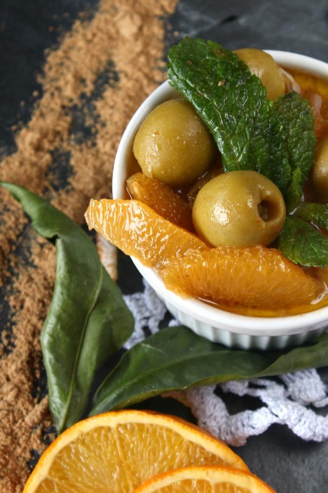 Ensalada de naranja y Ras el Hanout. http://www.maraengredos.com/