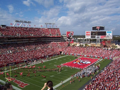 Tampa Bay Buccaneers Luxury Suites For Sale, Raymond James Stadium