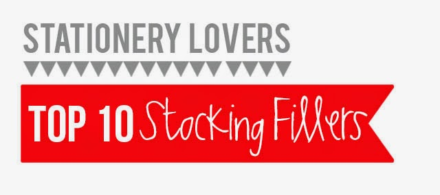 Stationery Lovers Top 10 Stocking fillers