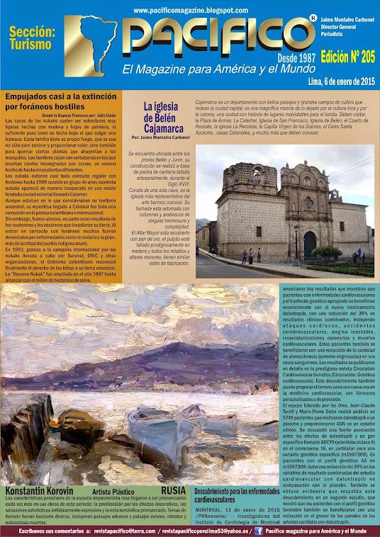 Revista Pacífico Nº 205 Turismo