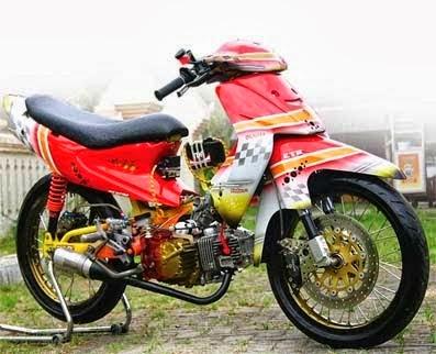 Gambar Modifikasi Suzuki Smash