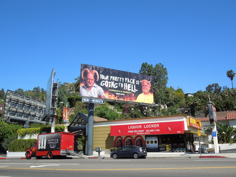 Your Pretty Face Hell billboard