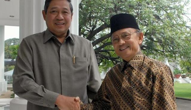 SBY Merasa Punya Kesamaan Pemikiran dengan Habibie