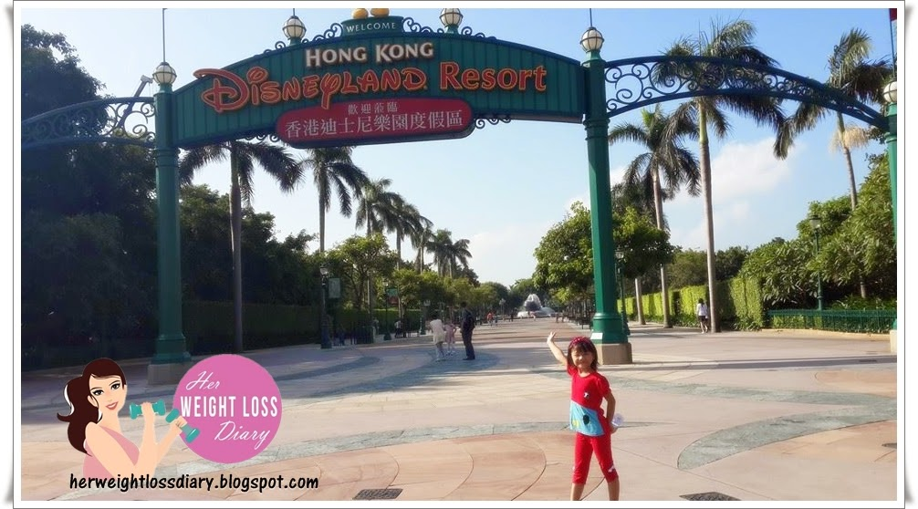 How to stay fit on vacation, Hong Kong Disneyland