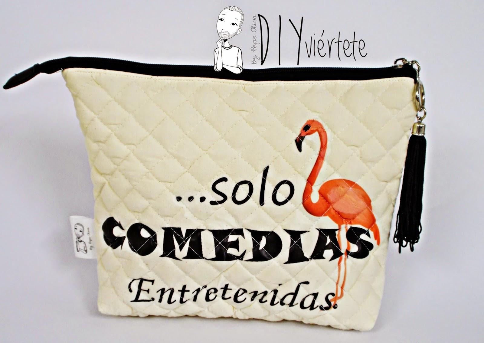 DIY-costura-clutch-cartera-neceser-bolsito-monedero-letras-fangoria-dramas y comedias-frases- (1)3