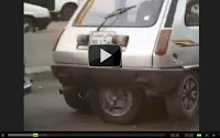 Funny cars | Funny Five wheel car | Parking a 5 wheel car is so easy