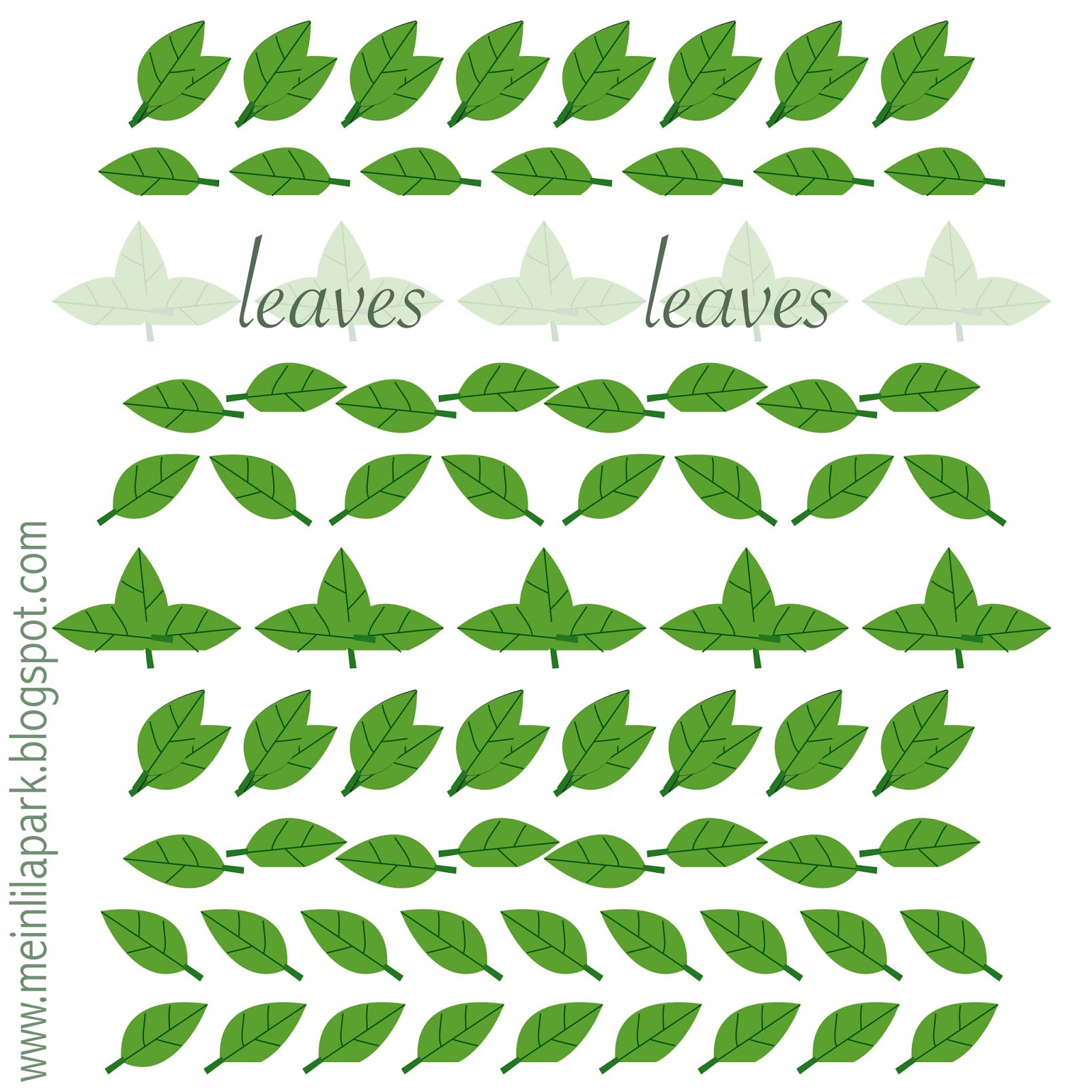 image regarding Printable Leaves named printable leaf paper -