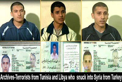 Archives Terrorists From Tunisia And Libya Who Snuck Into Syria From Turkey