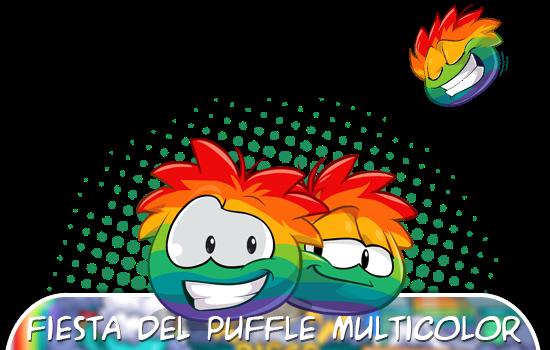 Trucos de la Fiesta del Puffle Multicolor 2015