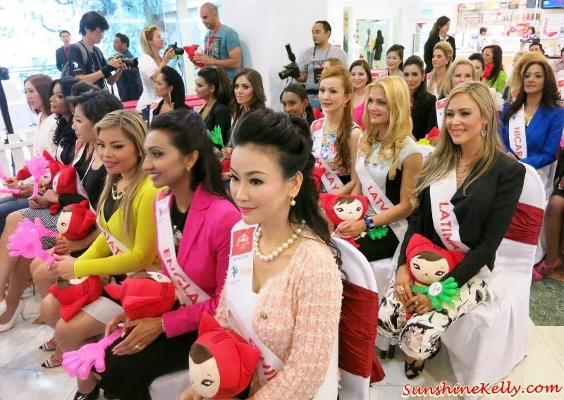 Mrs Universe 2014 World Finals Delegates in Malaysia, Mrs Universe World