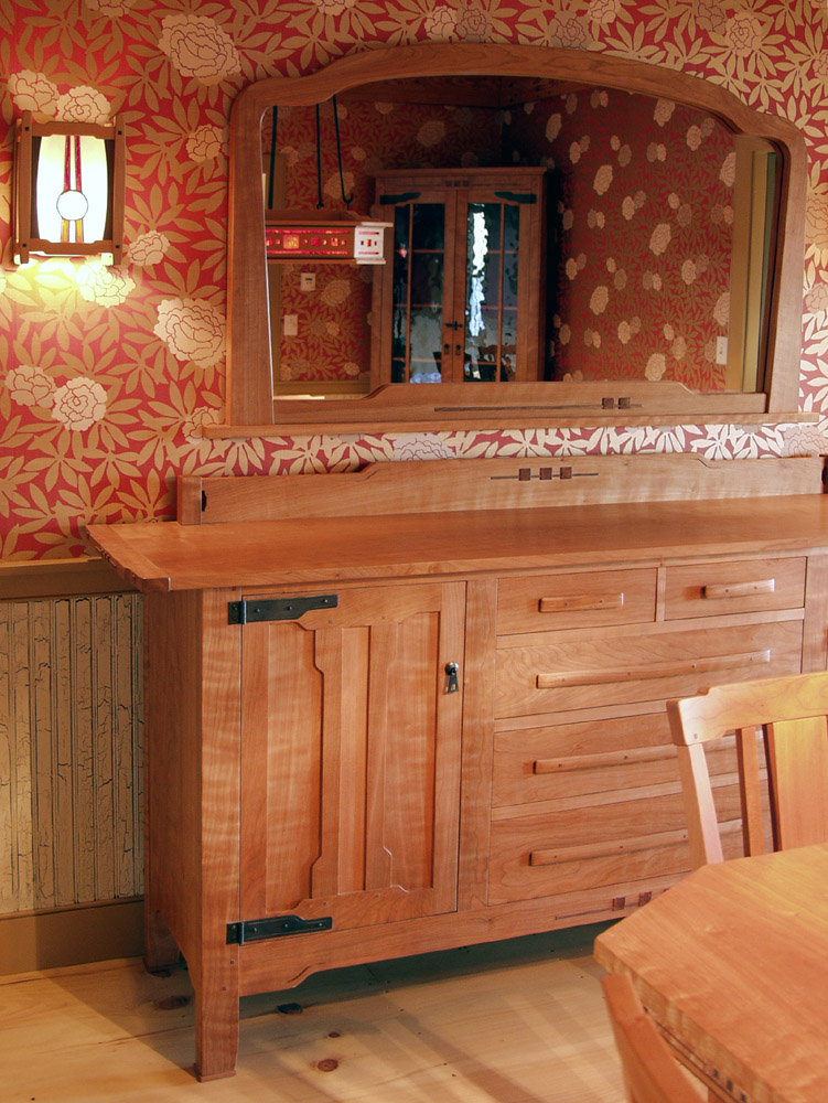 Dorset custom furniture a woodworkers photo journal the spaces we make - Arts and crafts dining room furniture ...