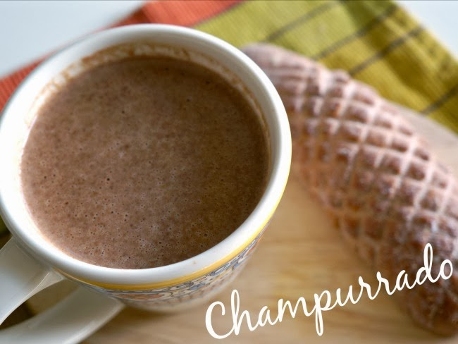 How to make Champurrado - a Mexican hot chocolate drink -- LivingMiVidaLoca.com