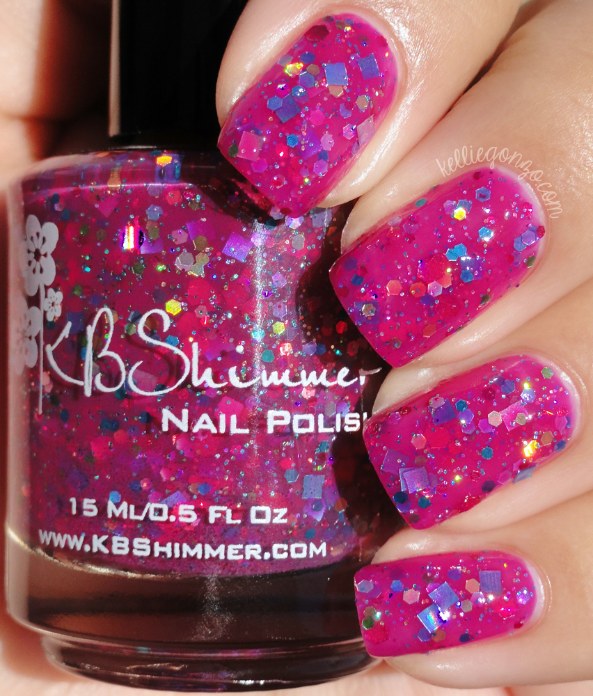 KBShimmer - Look High and Holo | kelliegonzo