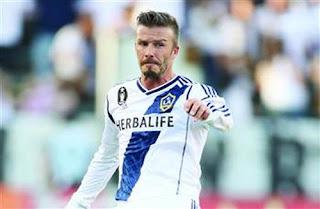 Koleksi beberapa foto2 aksi David Beckham di lapangan sepakbola