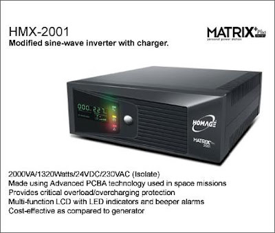 HMX 2001 Homage Matrix UPS Inverter