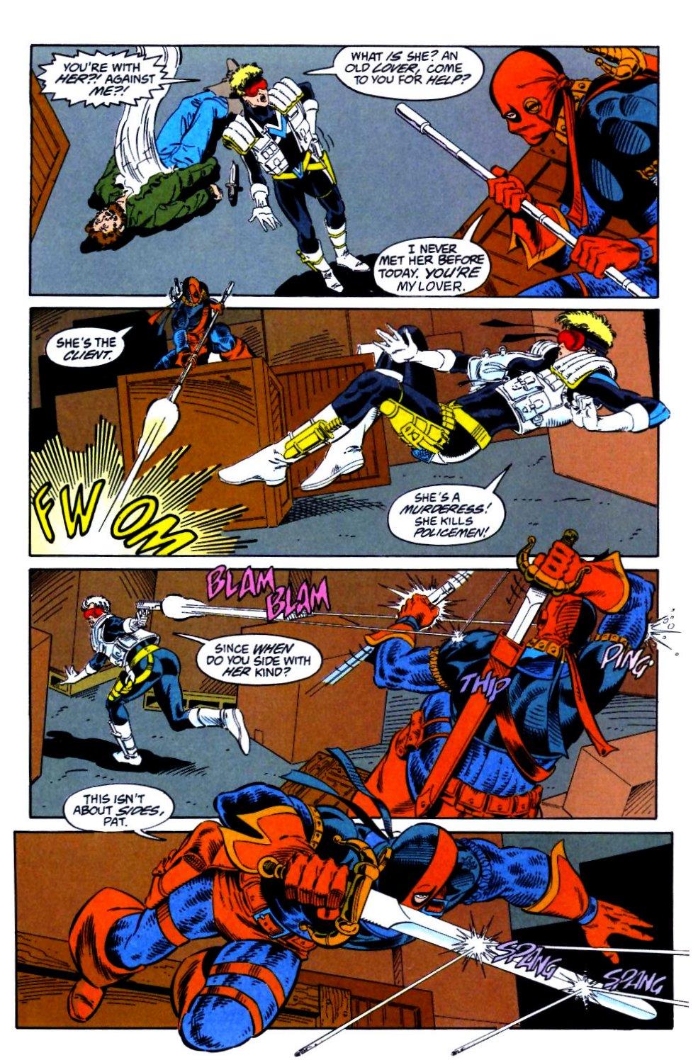 Deathstroke (1991) Issue #21 #26 - English 9