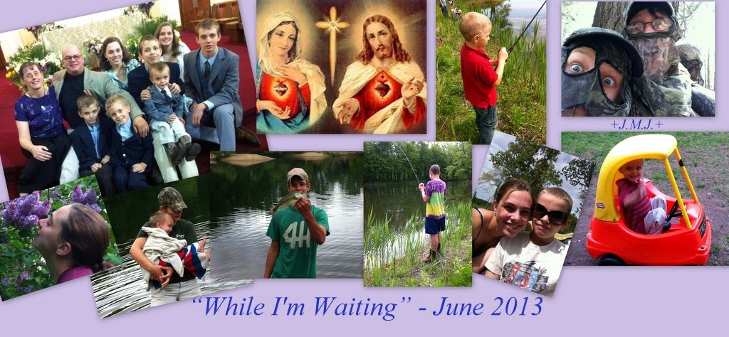 While I'm Waiting - June 2013