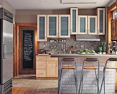 Decoraci n de interiores cocinas peque as y modernas for Cocinas modernas pequenas para apartamentos con desayunador
