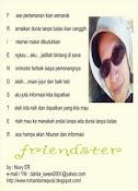 Sebait Kata Tentang Friendster