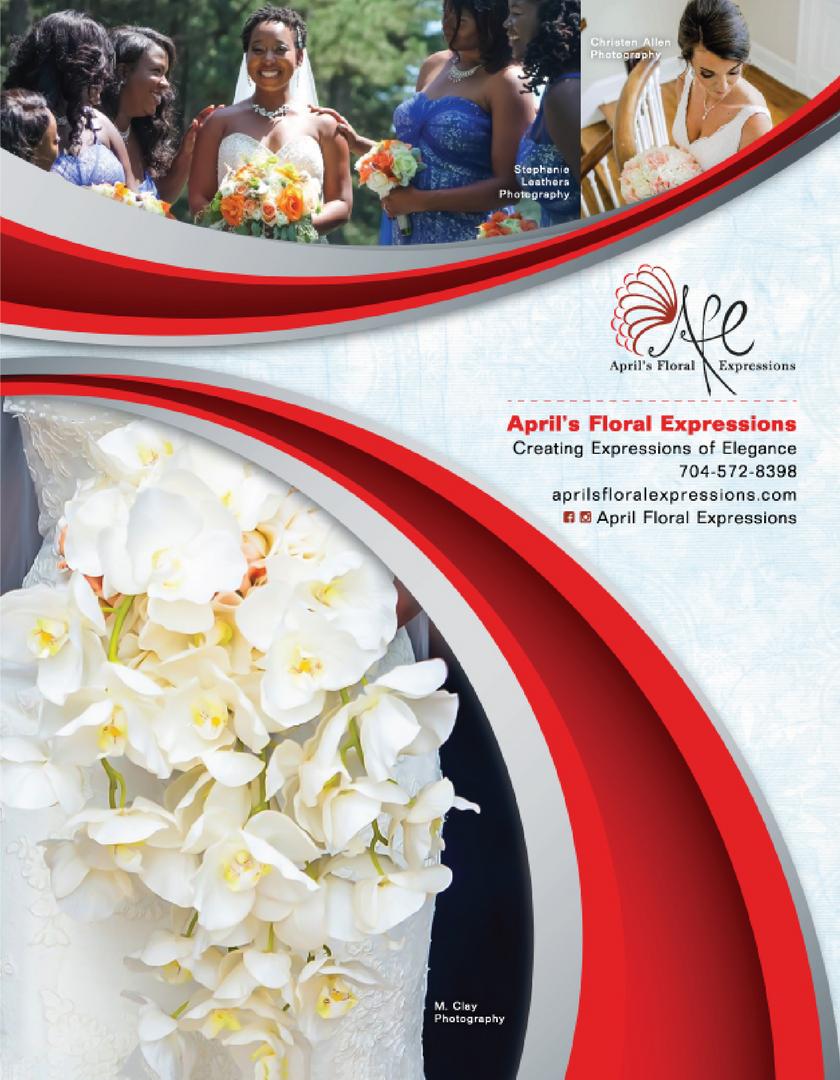 APRIL'S FLORAL EXPRESSIONS