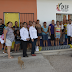 PARA PROTECCIÓN DE LOS NIÑOS,  EN CAIC CONQUISTADORES,  ENTREGAN MALLA CICLONICA.
