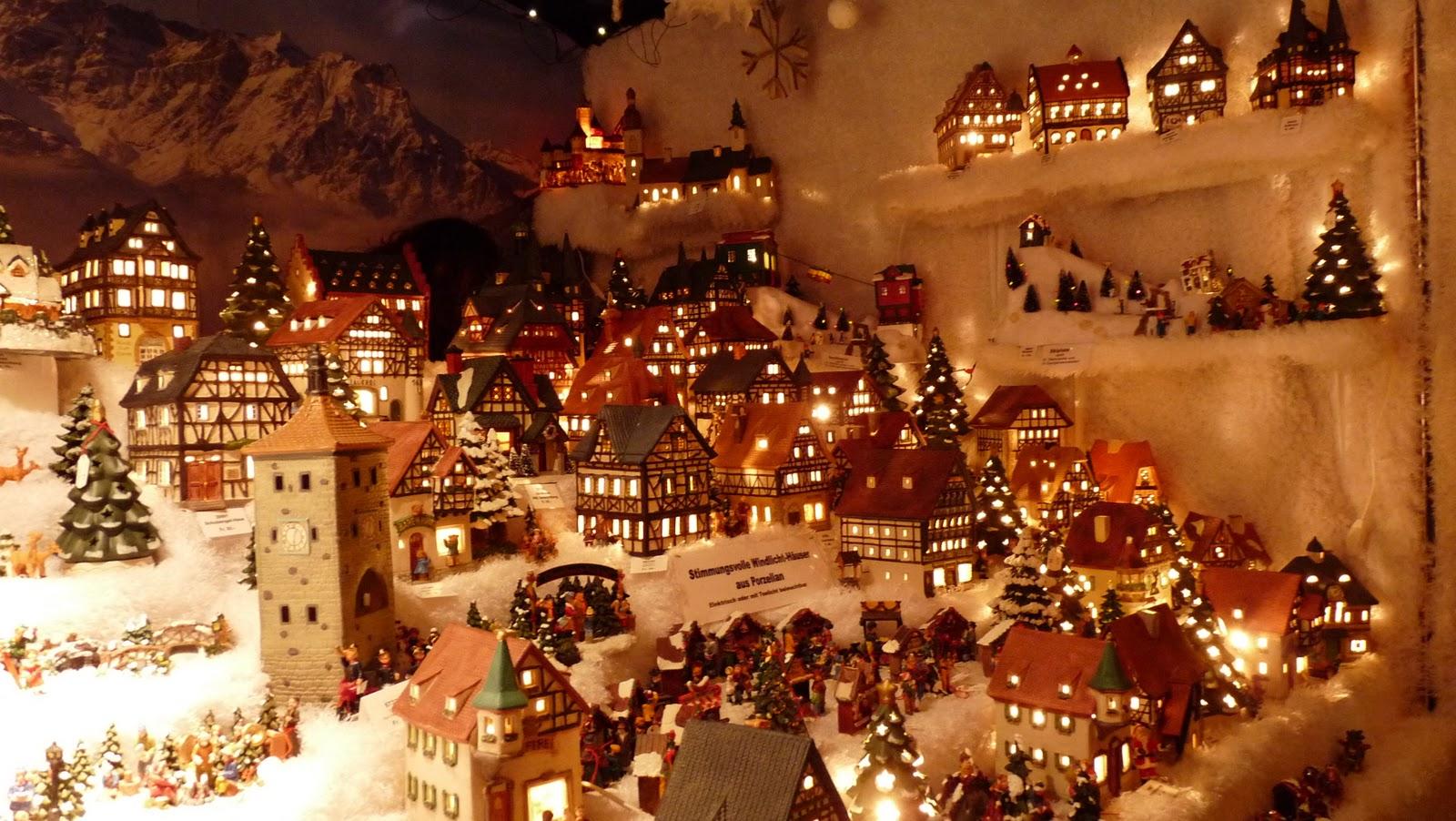 Mente aberta el mercadillo de navidad en basel - Casitas de navidad ...
