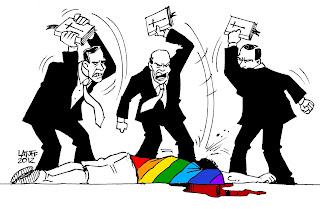 """Cura gay"", marcha do orgulho LGBT e o papa: Latuff entrevista Jean Wyllys"
