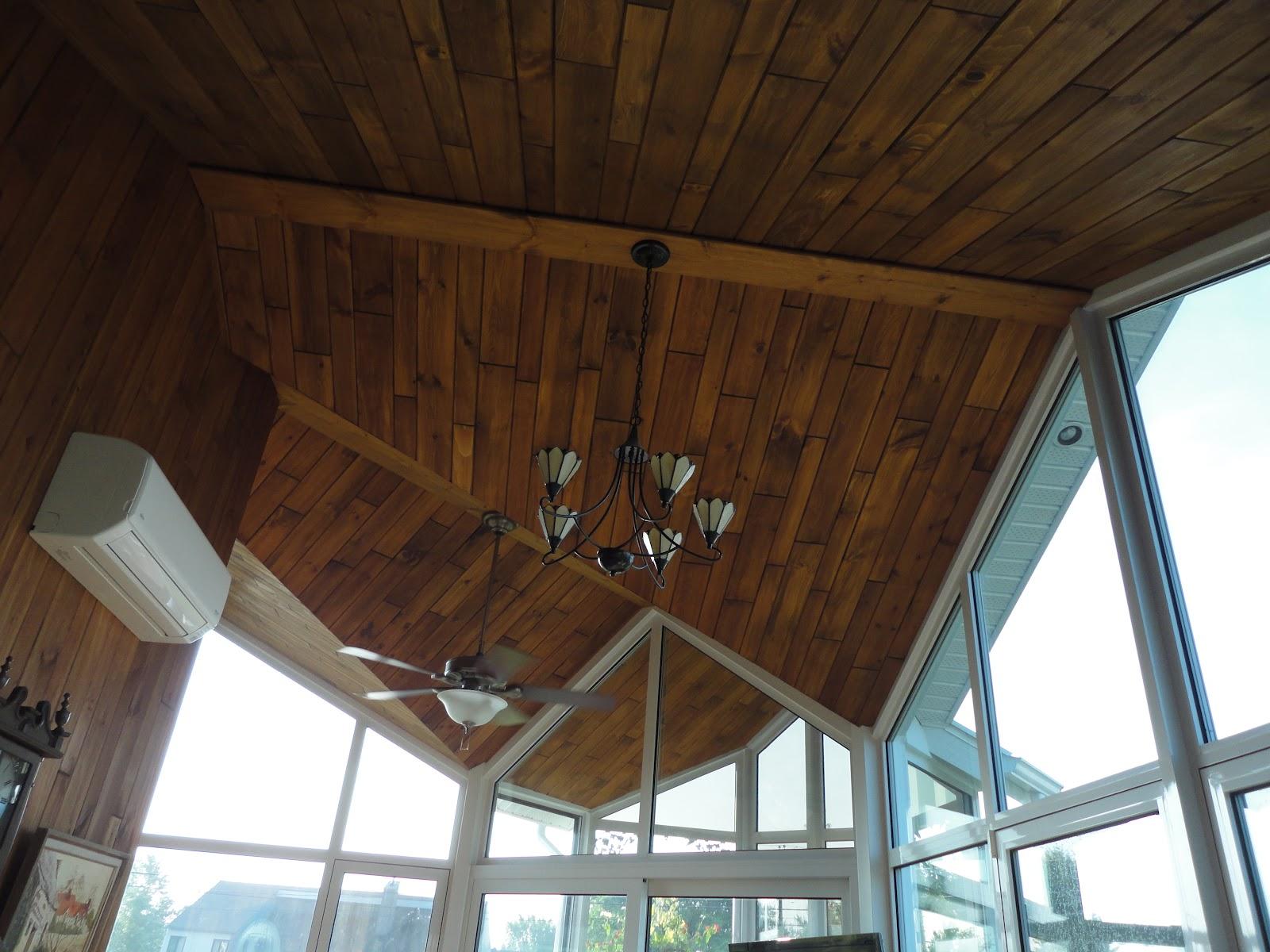 menuiserie st m thode plafond en bois. Black Bedroom Furniture Sets. Home Design Ideas