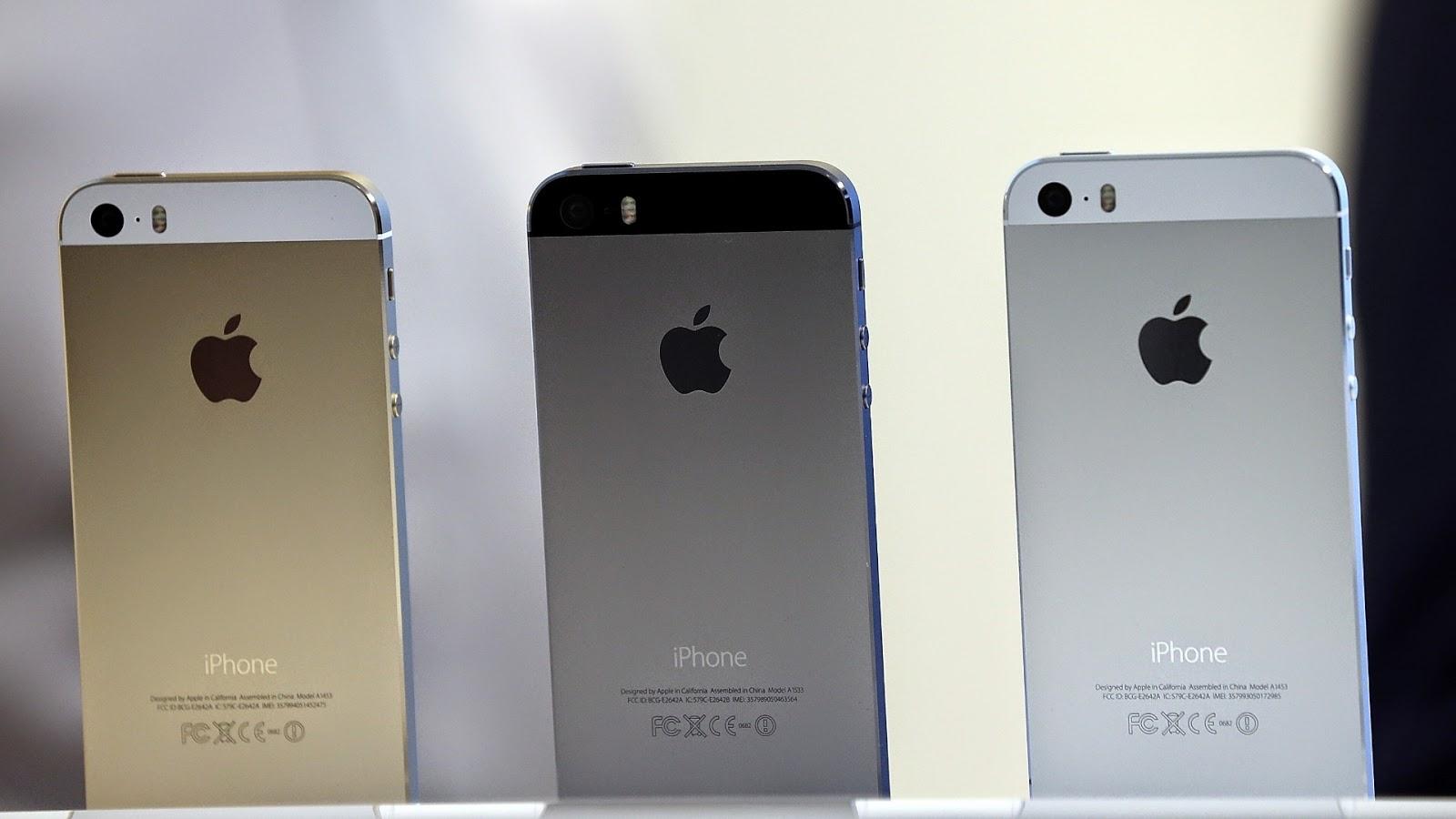 Iphone 5s características e preço