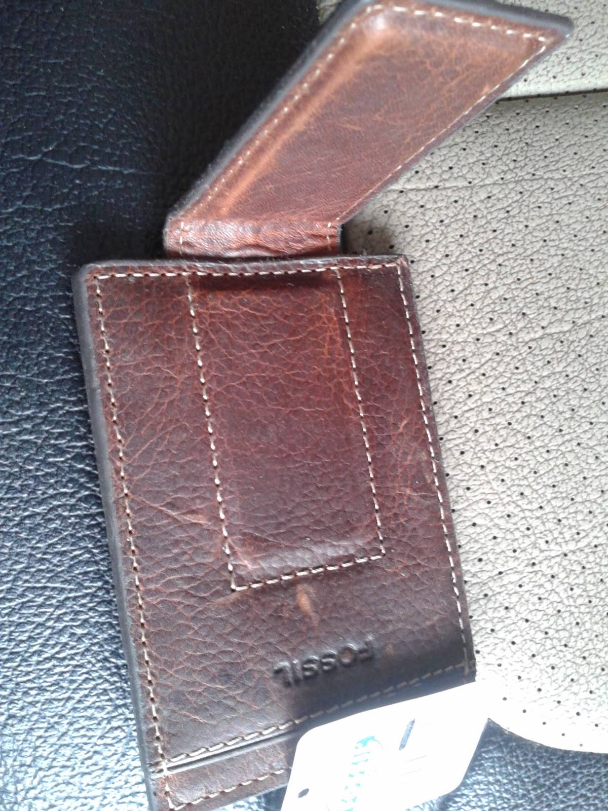 Myaccessories4u New Without Box Fossil Money Clip Leather