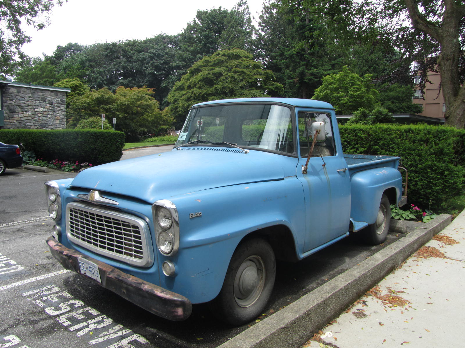 1960 international harvester b100
