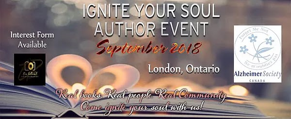 Signing Author, Ignite Your Soul, London Ontario