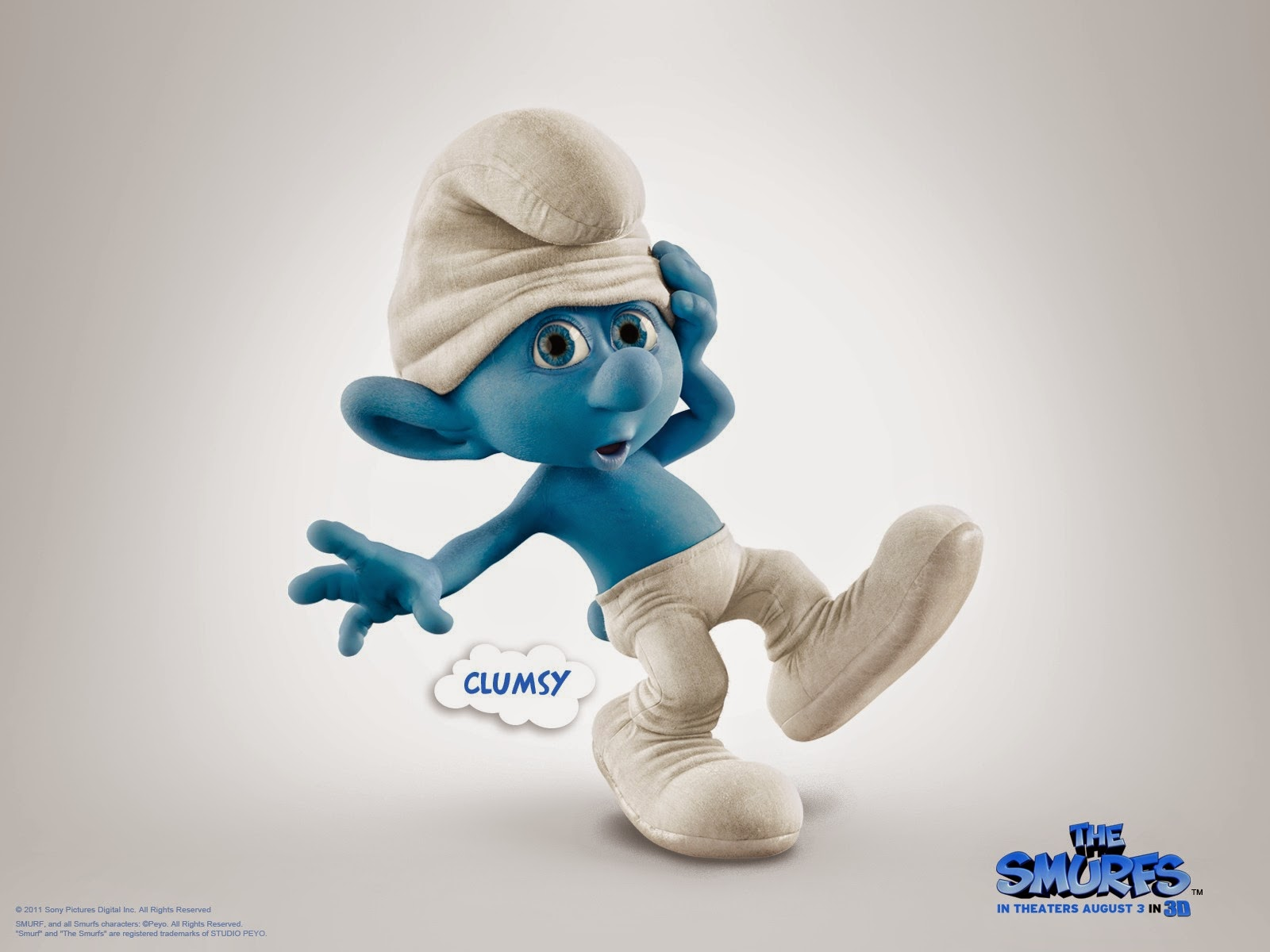 Smurfs 3D Cartoon Wallpapers Pictures
