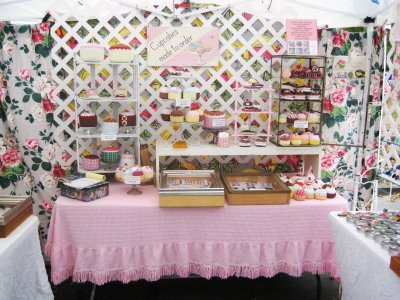 Booth Ideas for a Craft Show - Booth Kitchen Pic