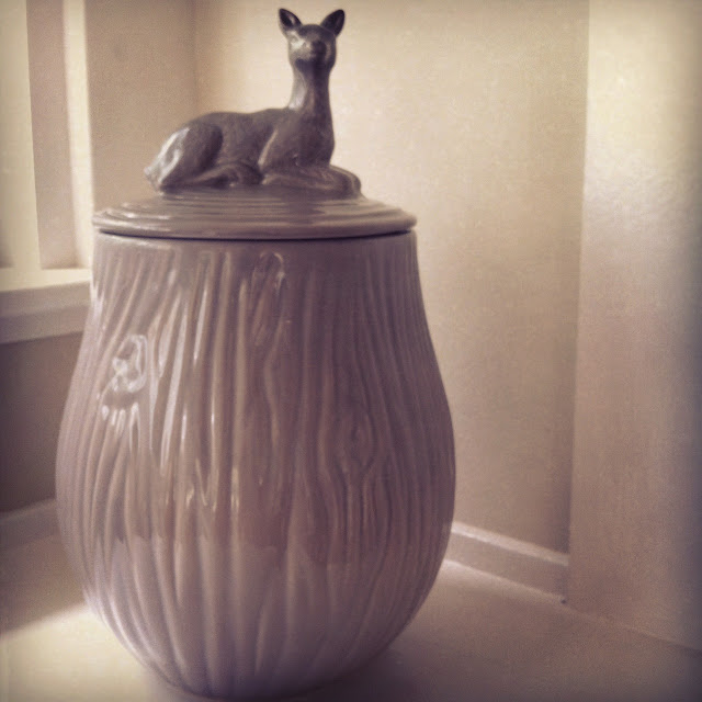 Deer Cookie jar