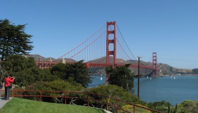Golden Gate Bridge i San Francisco, Californien, USA