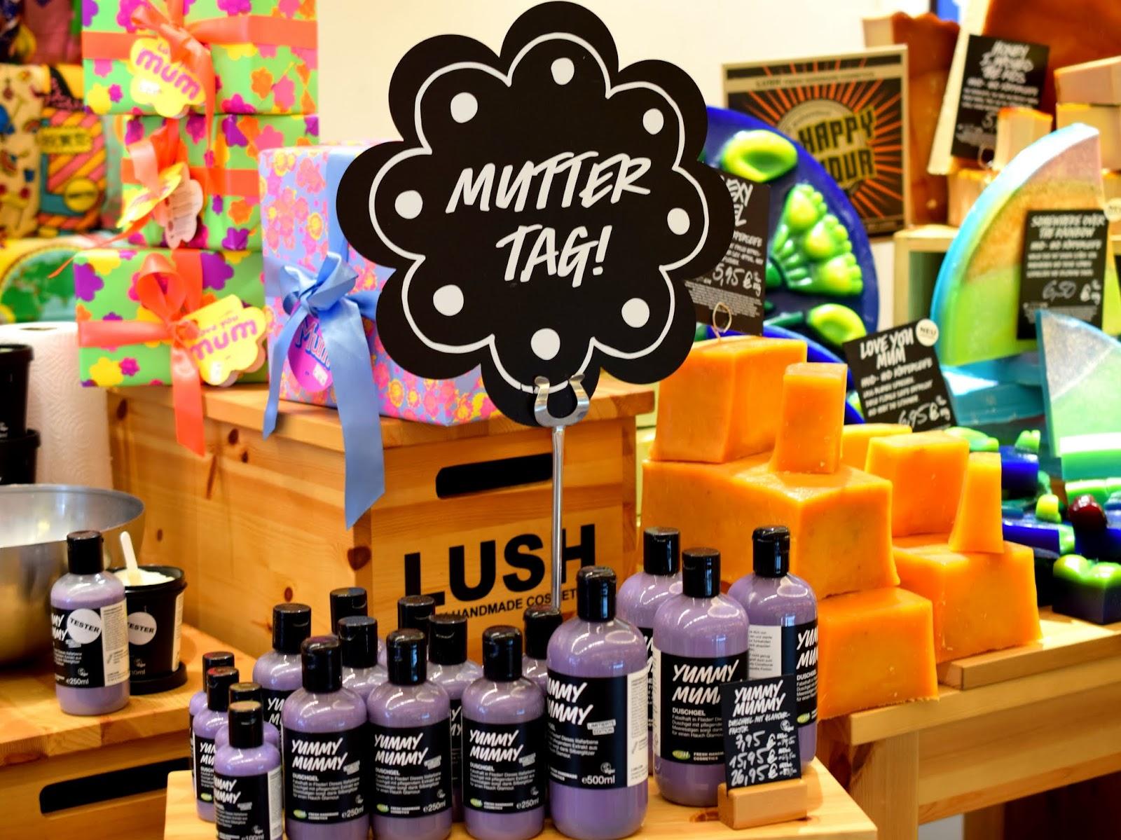 Lush VIP Tour: Limitierte Produkte zum Muttertag