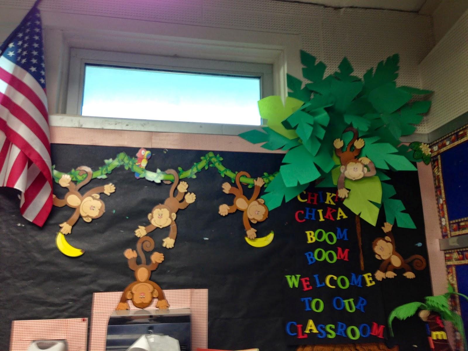 Classroom Decorations Bulletin Board Set ~ Kfundamentals  classroom set up year round