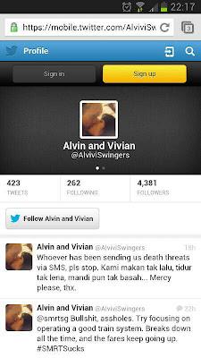 Alvin Vivian [BLOGGER LUCAH} Mengamuk Di Twitter, Gambar Bogel Mereka Tersebar Dan Mereka Di Ugut Bunuh!!