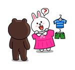 emoticones de chica de compras