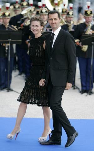 asma al assad. Part of Al-Assad#39;s amusement