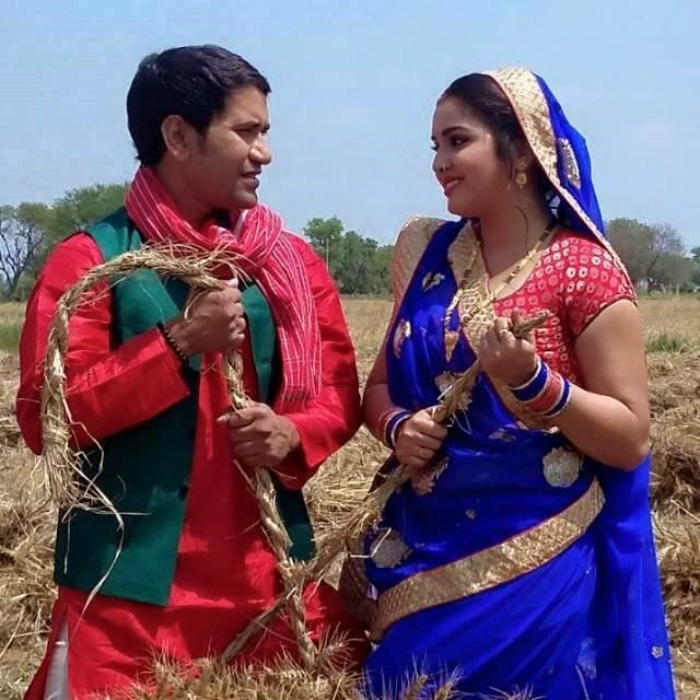 Shooting Video of Nirahua and Amrapali 'RAJA BABU' Bhojpuri Movie