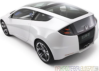 Harga New Honda CR-Z Hybrid Spesifikasi 2012
