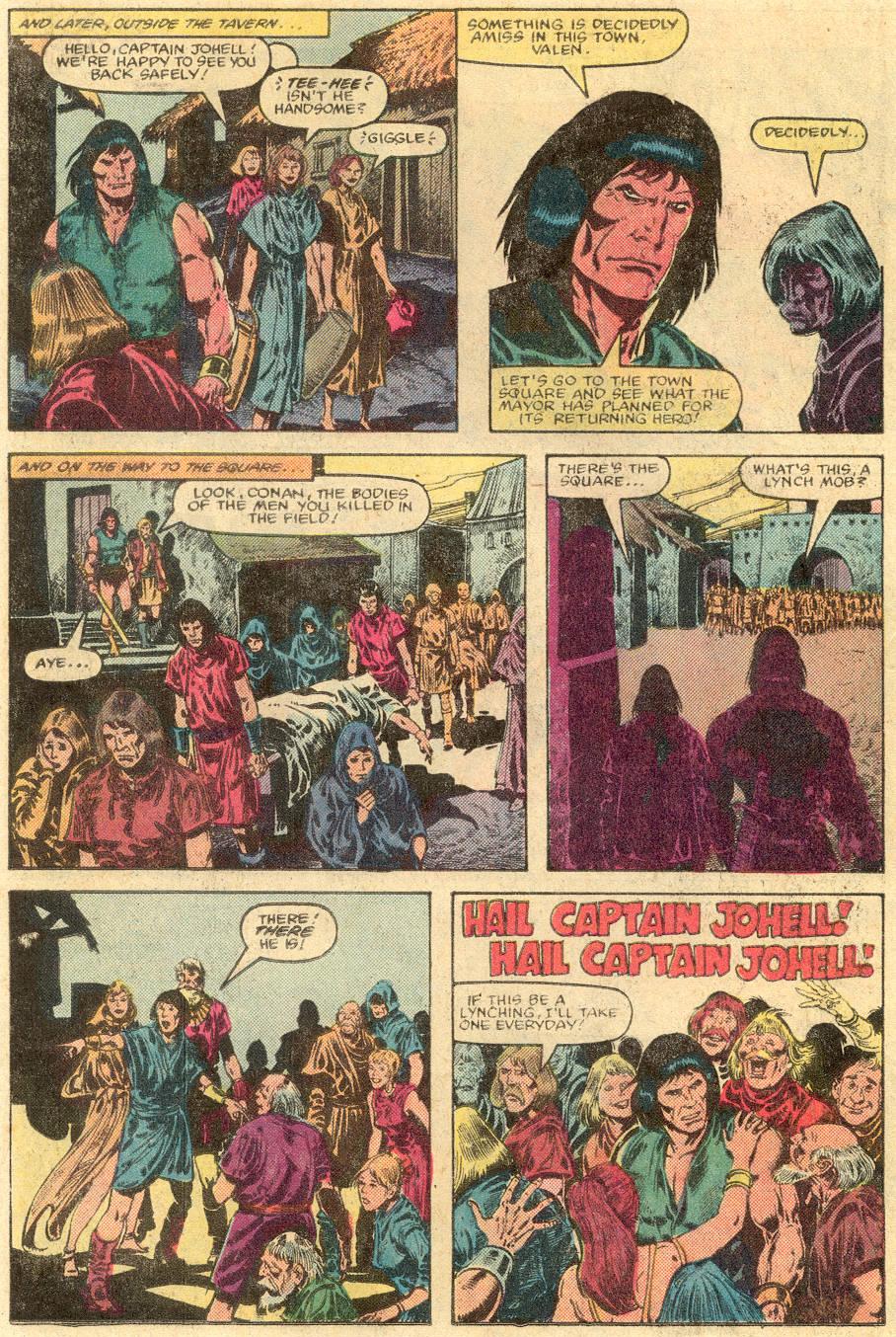 Conan the Barbarian (1970) Issue #143 #155 - English 13