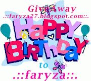::GA Birthday Faryza::
