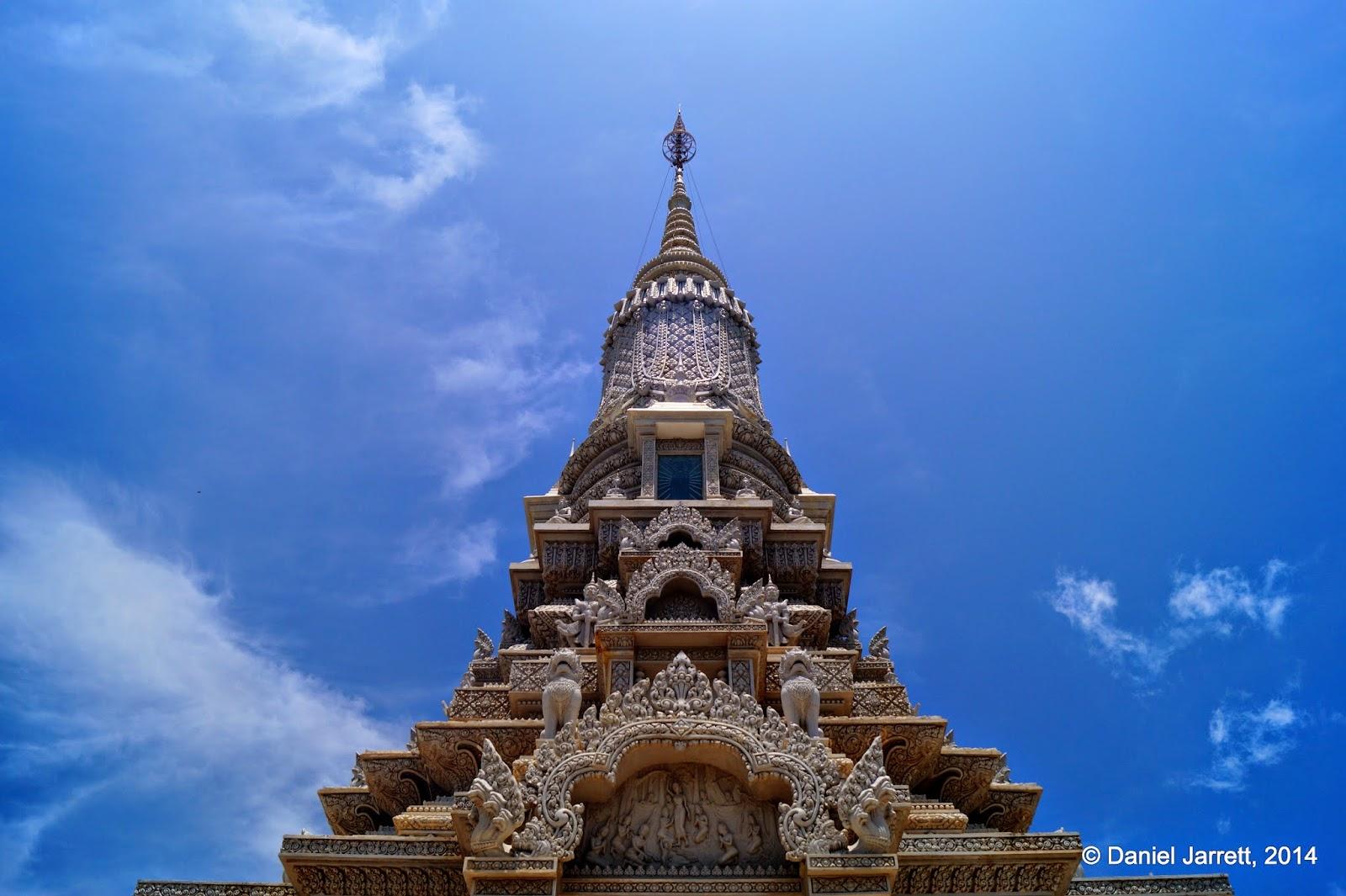 Phnom Oudong Temple, Oudong, Cambodia