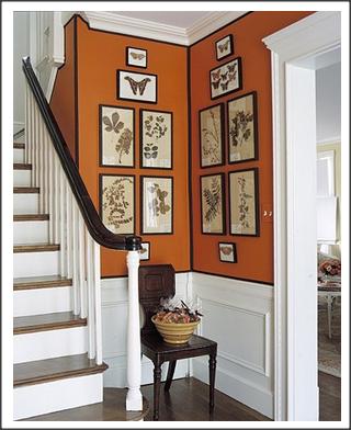 Como colocar os quadros na parede?
