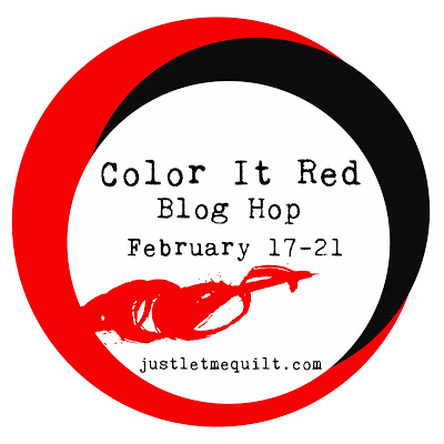 Color it Red blog hop