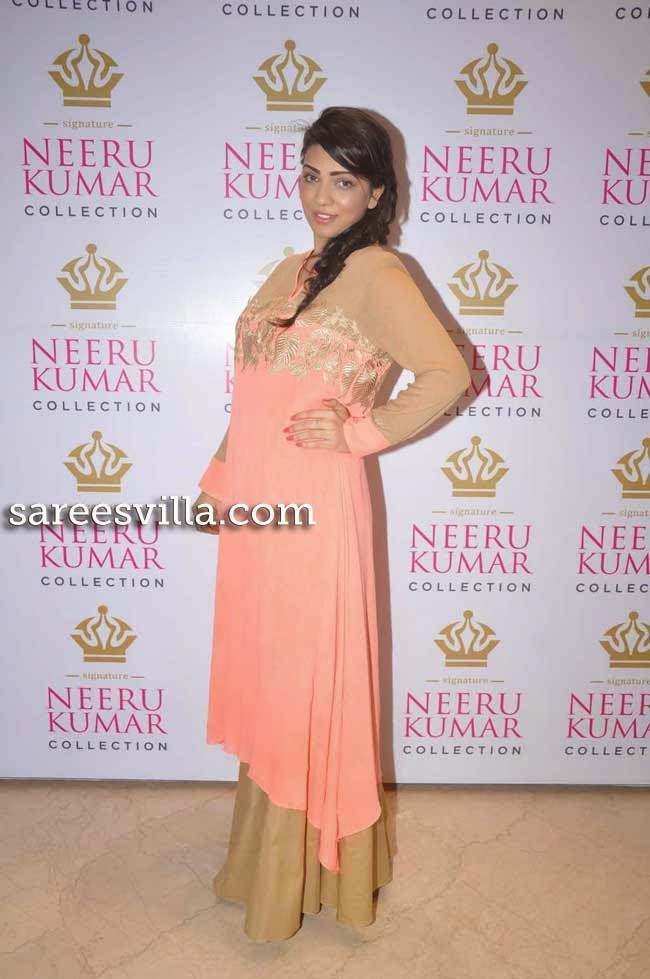 Actress Parinidhi at Neeru Kumar Collection Launch